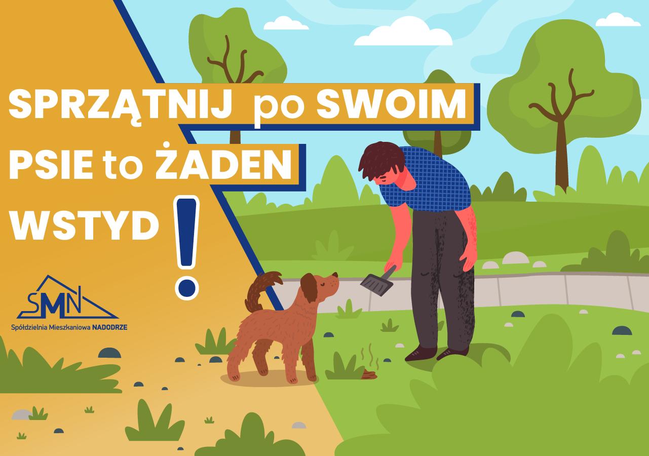 Sprzątnij po swoim psie – to nie wstyd