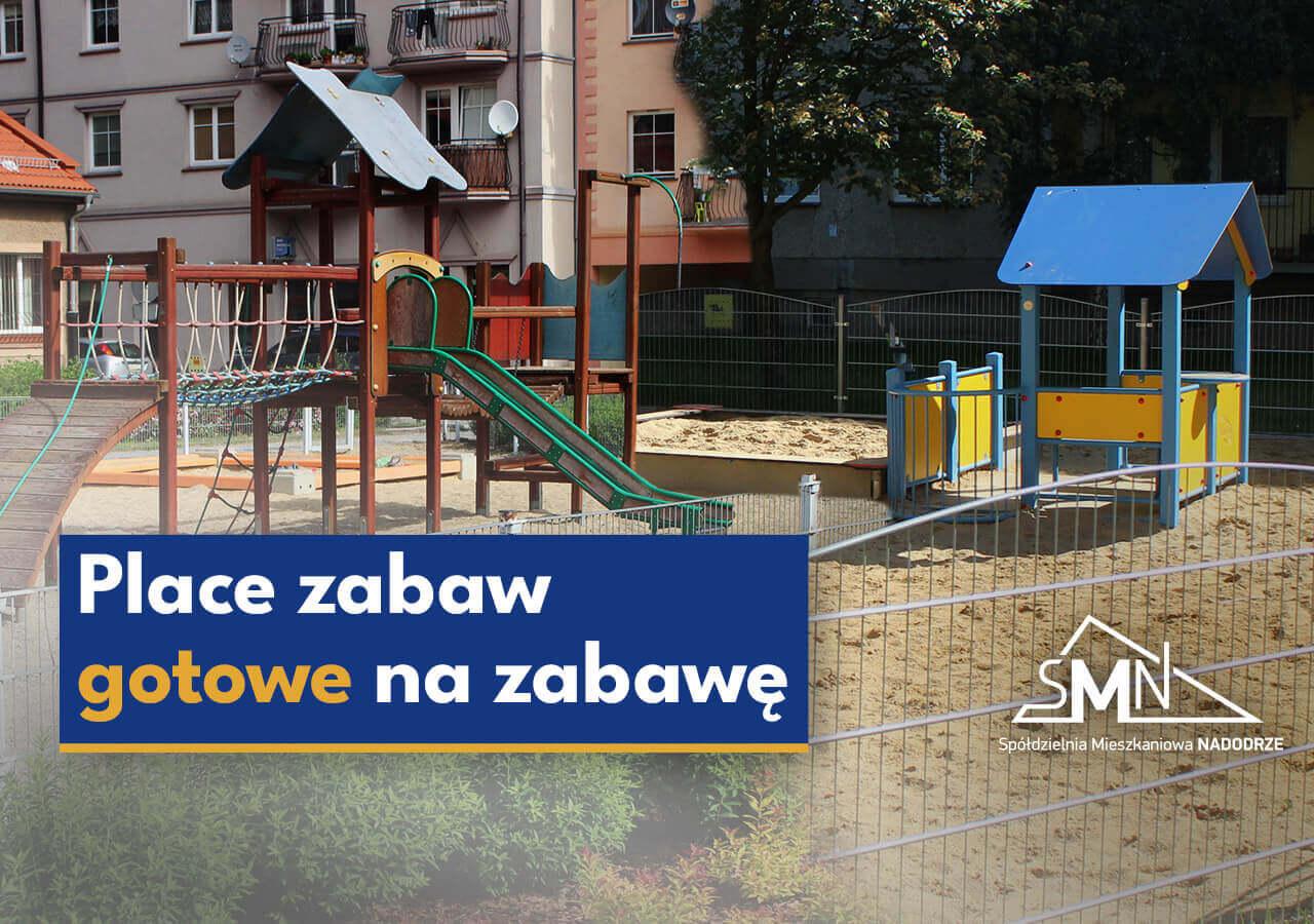 Place zabaw w Głogowie gotowe na zabawę
